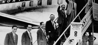 Ho-Am leading a vice-ministers' delegation to the U.S image